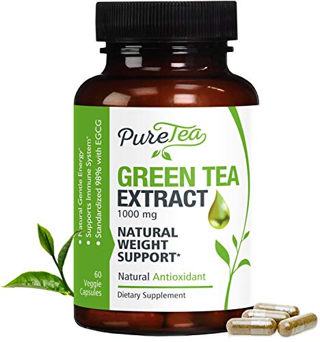 Green Tea Extract 98% 1000mg with...