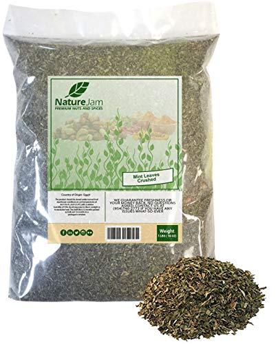 Mint Leaves (Crushed) 1 Pound Bulk...