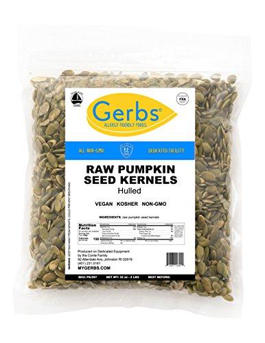 GERBS Raw Hulled Pumpkin Seed...