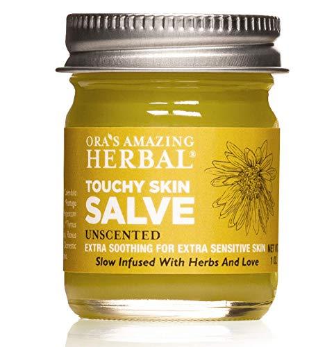 Touchy Skin Salve, Eczema Cream For...