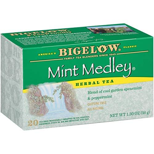 Bigelow Mint Medley Herbal Tea Bags...
