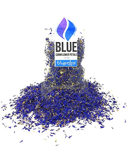 Pure Blue Cornflower Petals - 100%...