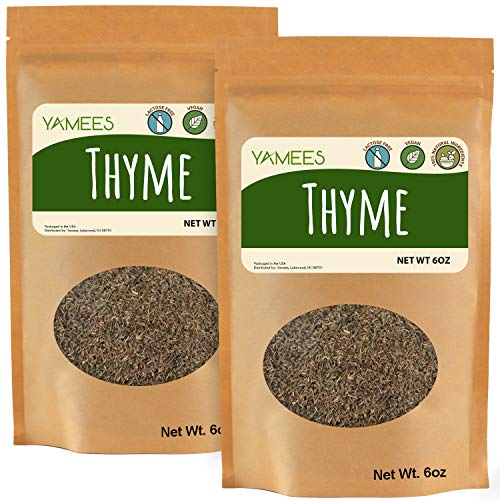 Yamees Dry Herbs – BULK Thyme –...
