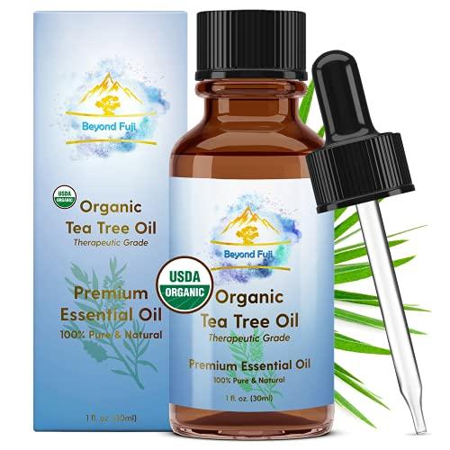 Organic Tea Tree Essential Oil,...