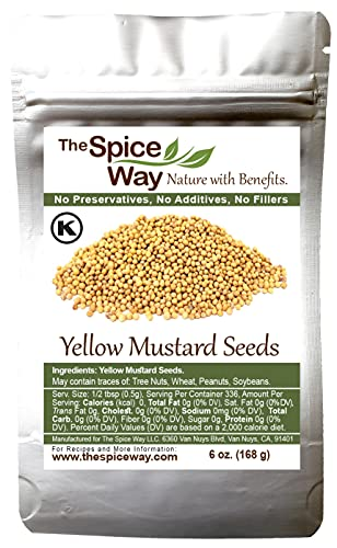 The Spice Way Yellow Mustard Seed -...