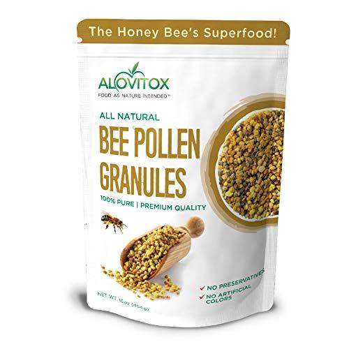 ALOVITOX Bee Pollen Granules | 100%...