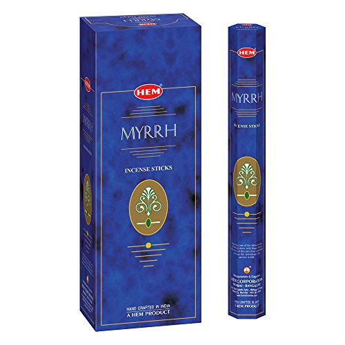HEM Myrrh Incense Sticks - Pack of...