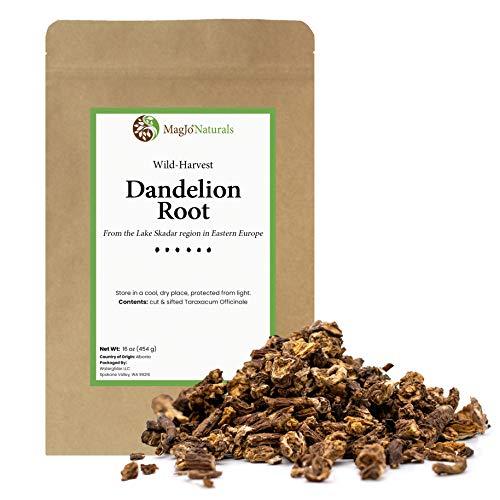 MagJo Naturals Dandelion Root, Raw,...