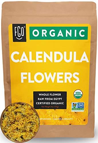 Organic Calendula Flowers | Whole |...