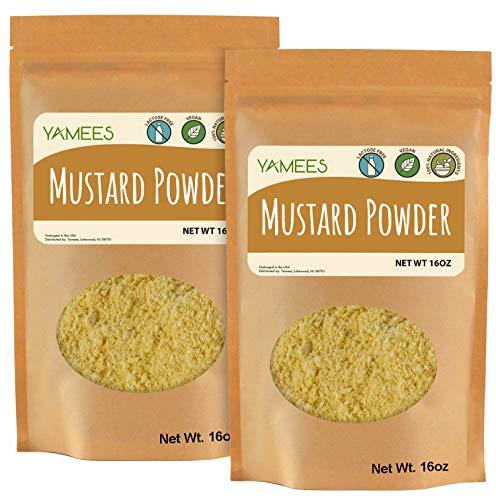Yamees Mustard Powder - 2 Bags - 28...