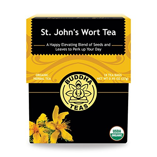 Organic St. John's Wort Tea, 18...