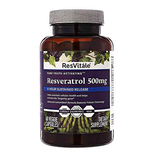 ResVitale Resveratrol 500mg - Anti...