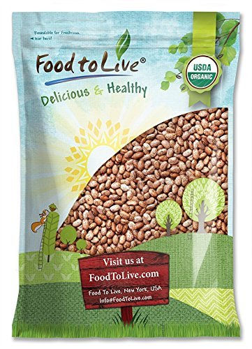 Organic Pinto Beans, 10 Pounds -...