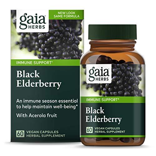 Gaia Herbs, Black Elderberry,...
