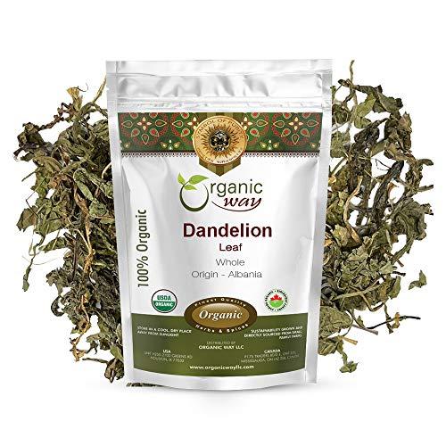Organic Way Dandelion Leaf Whole...