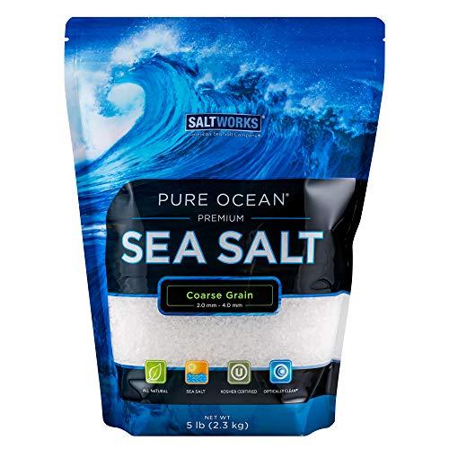 SaltWorks Pure Ocean Sea Salt,...