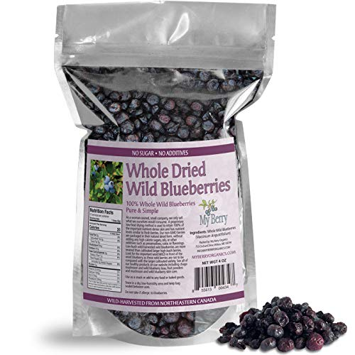 Dried Wild Blueberries, No Added...