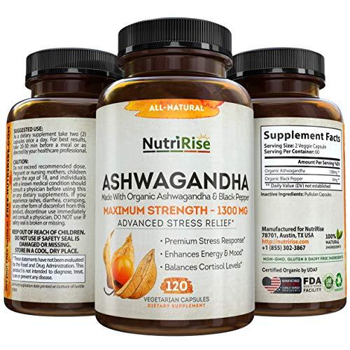 Ashwagandha 1300mg Made with...