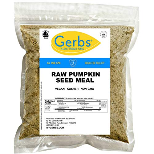 GERBS Ground Pumpkin Seed Meal, 16...