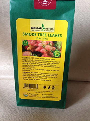Organic Dried Smoke Tree Leaves...