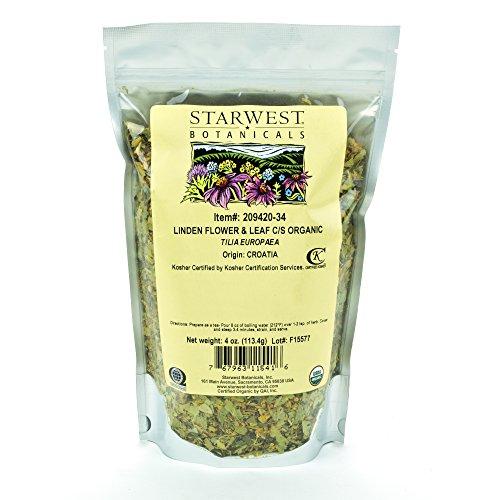 Starwest Botanicals Organic Linden...