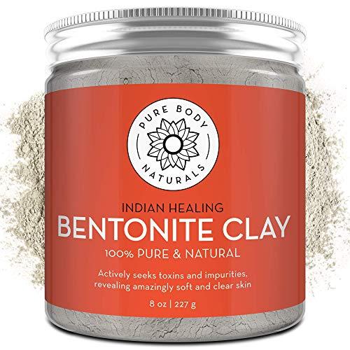 Pure Bentonite Powder for DIY Detox...
