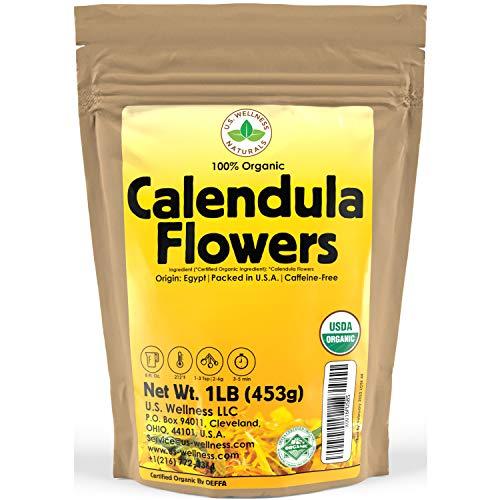 Calendula Tea 1LB (16Oz) 100%...