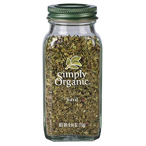Simply Organic Sweet Basil Leaf,...