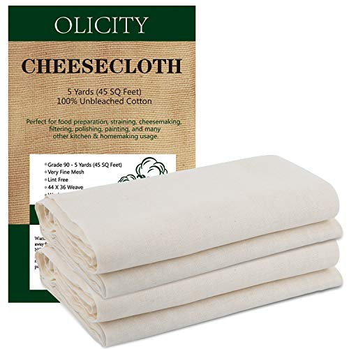 Olicity Cheesecloth, Grade 90, 45...