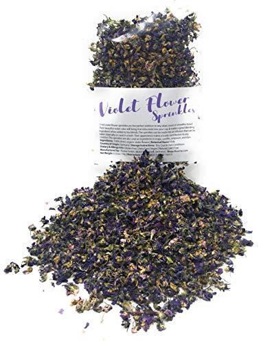 Dried Violets - Organic Violet...