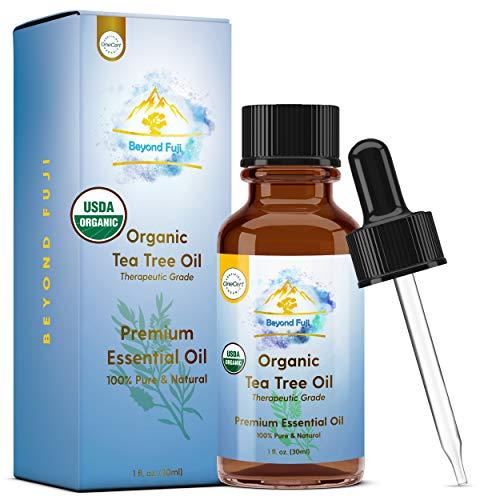 Organic Tea Tree Essential Oil -...