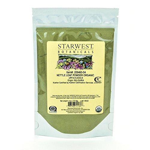 Starwest Botanicals Organic Nettle...