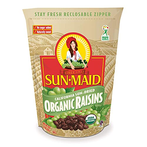 Sun-Maid Raisins- Organic No Sugar...
