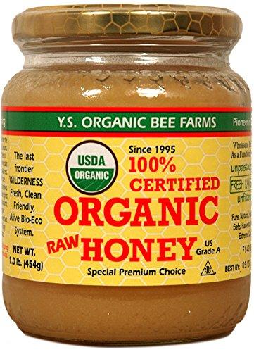 Ys Eco Bee Organic Honey 1 Pound...