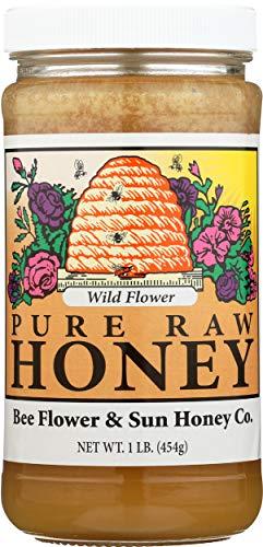 BEE FLOWER AND SUN HONEY HONEY WILD...