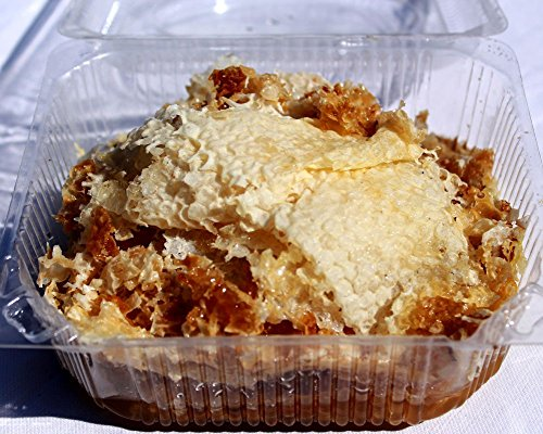Natural raw honeycomb cappings...