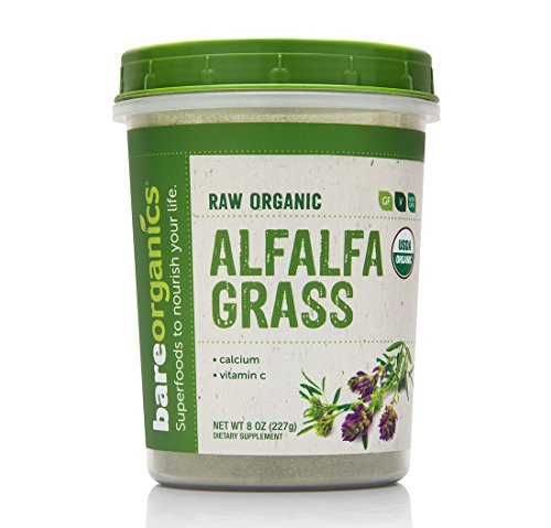 BareOrganics Alfalfa Grass Powder |...