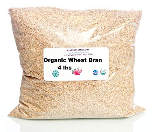 Wheat Bran, 4 Pounds USDA Certified...