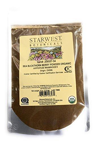 Sea Buckthorn Berry Powder Organic...