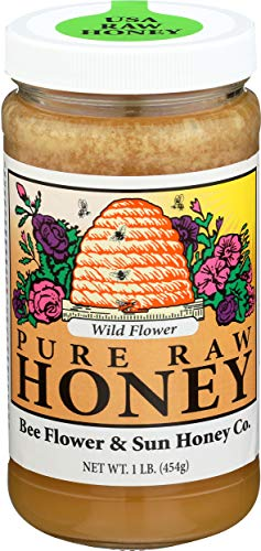 BEE FLOWER AND SUN HONEY HONEY WILD...