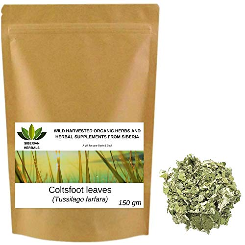 Wild Harvested Organic Coltsfoot...