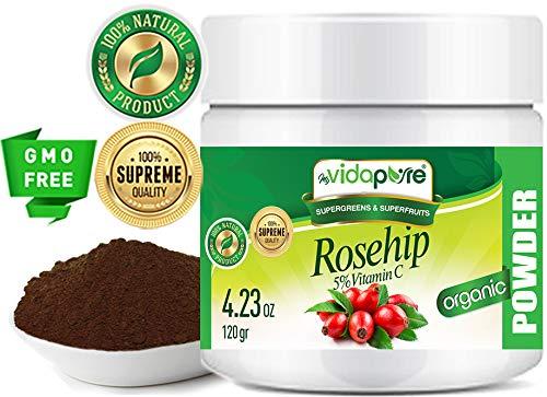 Vitamin C Rosehip Powder Pure Raw....