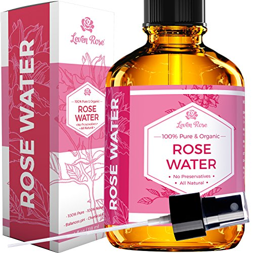 Rose Water Facial Toner by Leven...