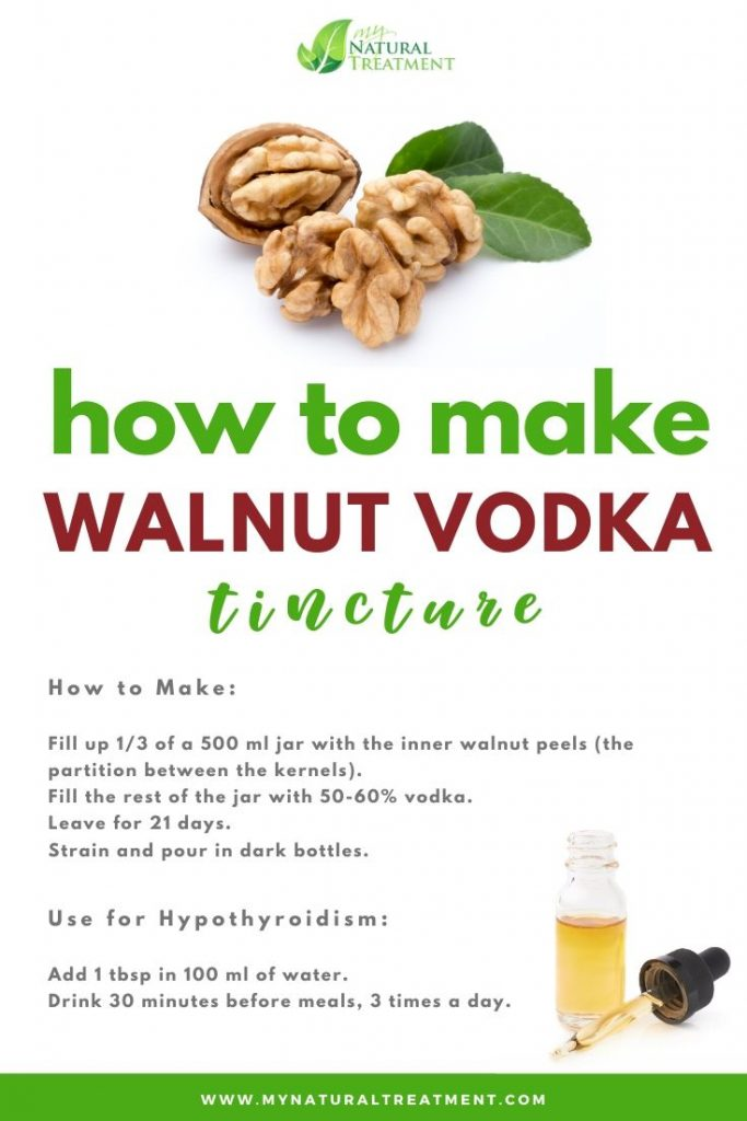 Walnut Vodka for Thyroid