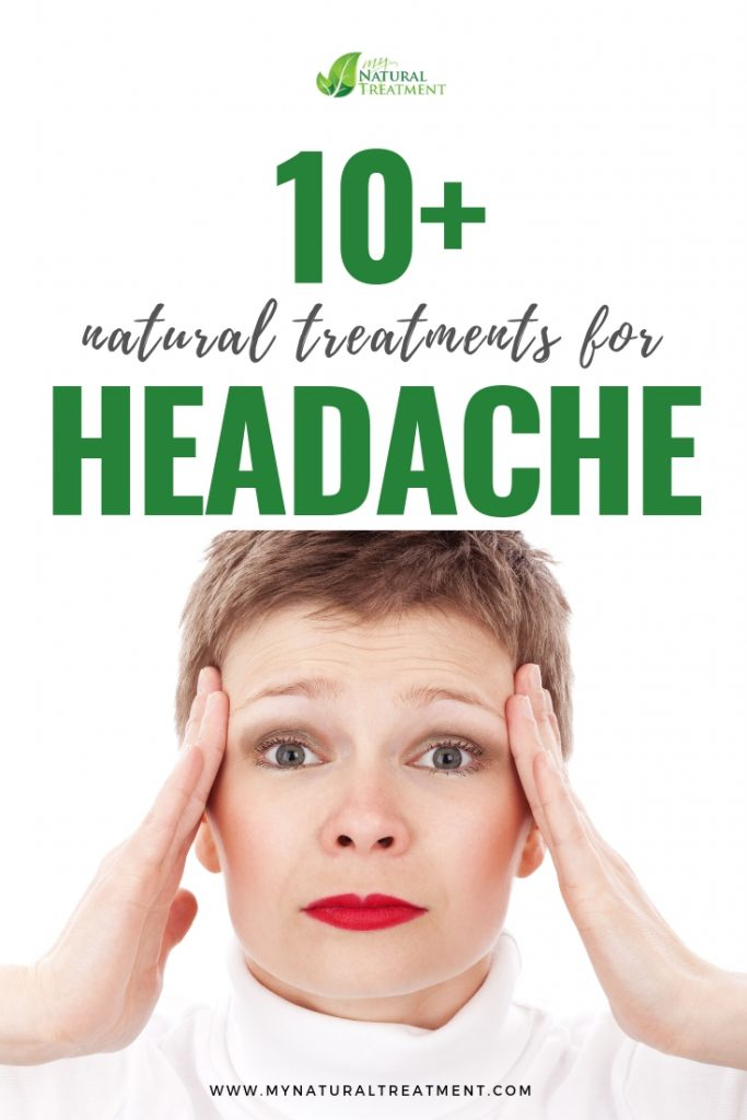 Natural Treatment for Headache witj Herbs and Simple Instructions