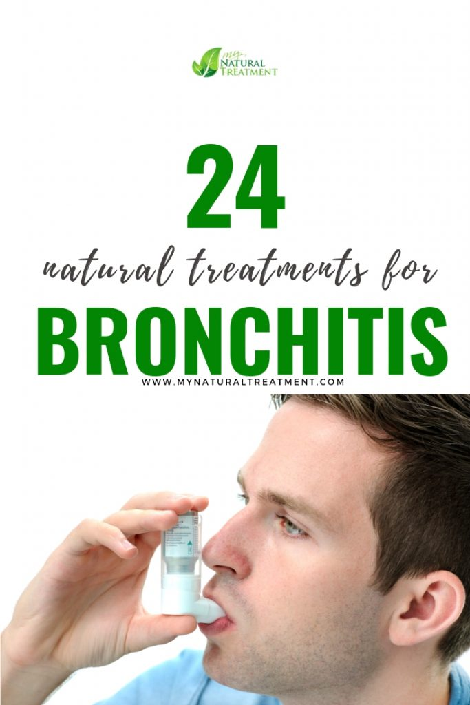24 Natural treatments for bronchitis