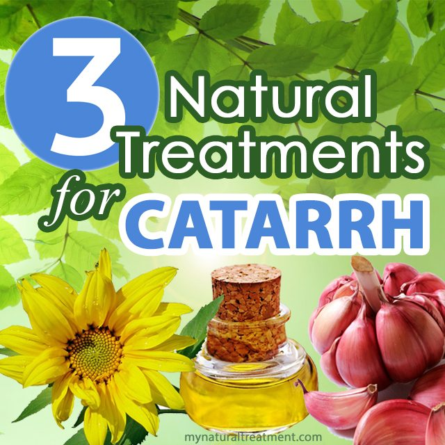 natural treatment for catarrh