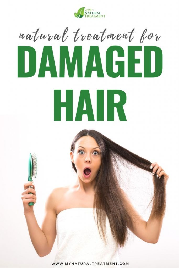 Natural Treatment for Damaged Hair