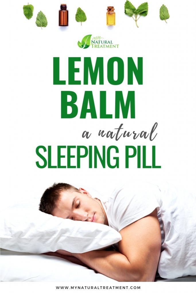 Lemon Balm Natural Sleeping Pill