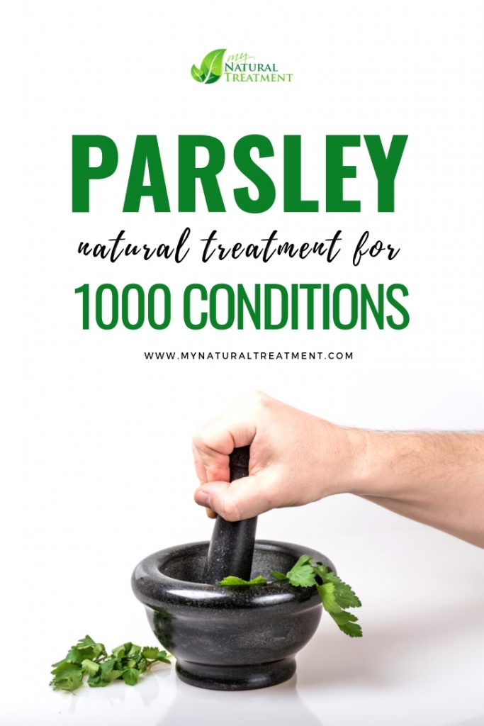 Parsley Natural Treatment Digestion